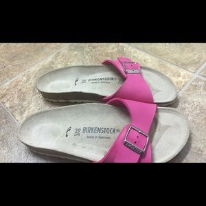 Ladies Slide On Sandals by Birkenstock size 39\9
